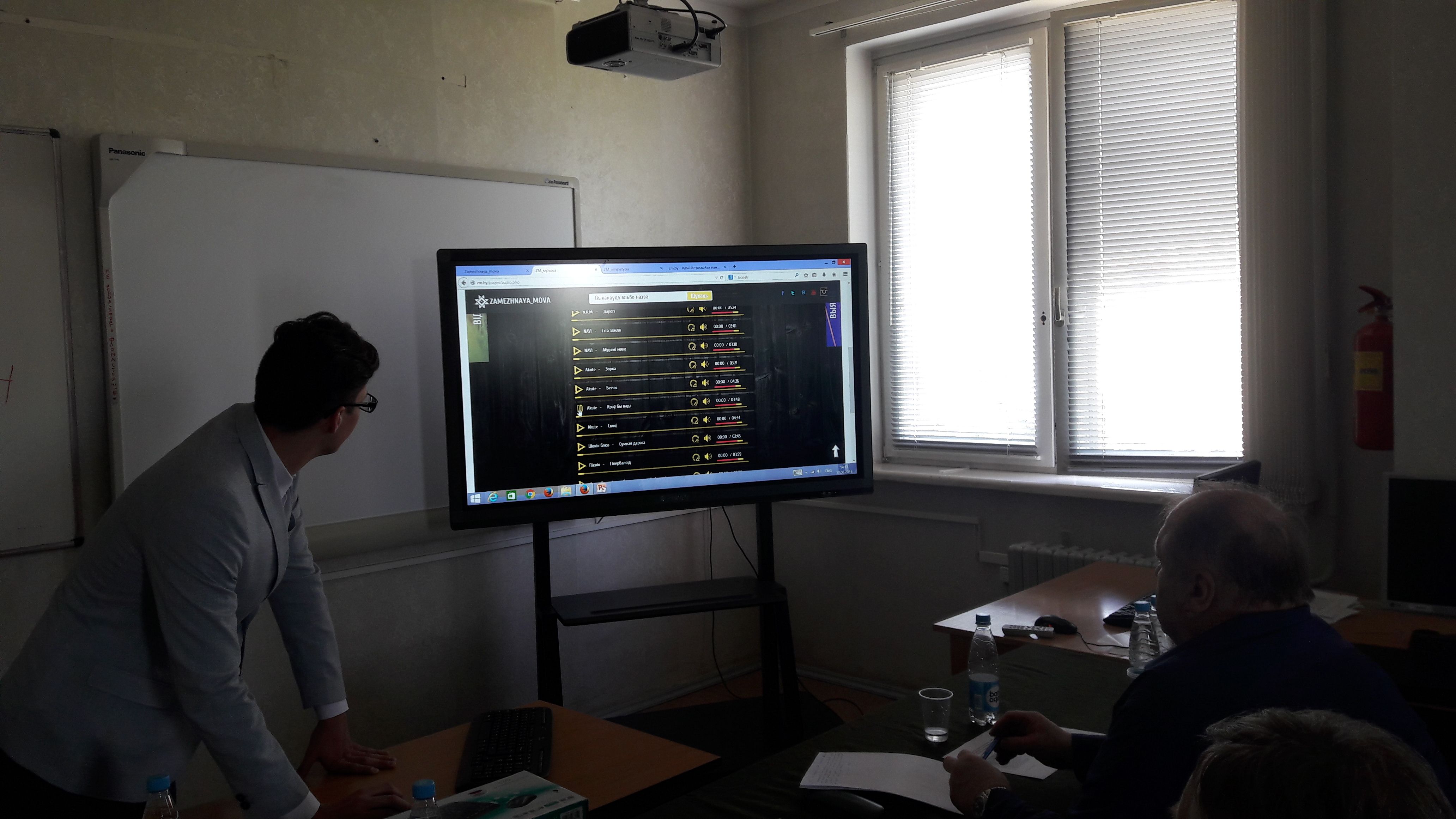 Представление дипломных проектов слушателей специальности Веб   в Институте информационных технологий БГУИР прошла защита дипломных проектов слушателей по специальности Веб дизайн и компьютерная графика